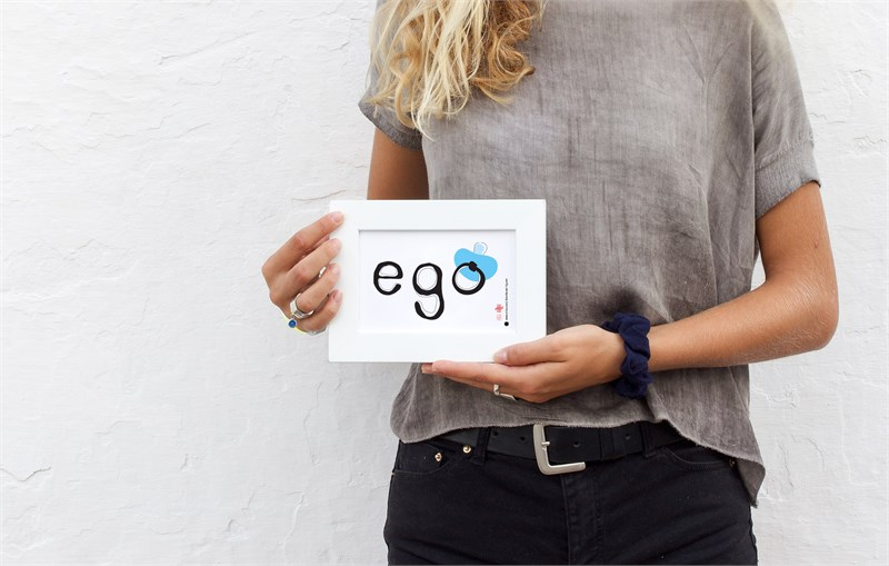 Ego #4 in Melina's hands