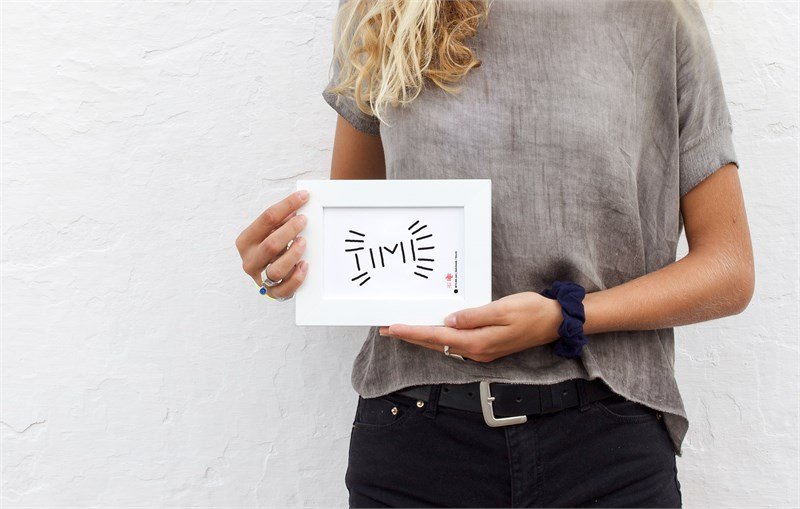 Time #2 in Melina's hands